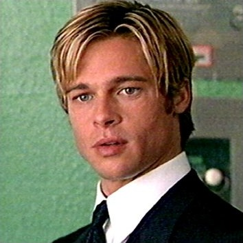 Brad Pitt gesichter & DVDs Blu rays